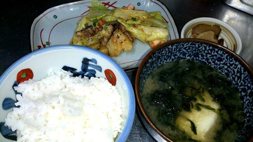 ちゃんちゃん焼定食