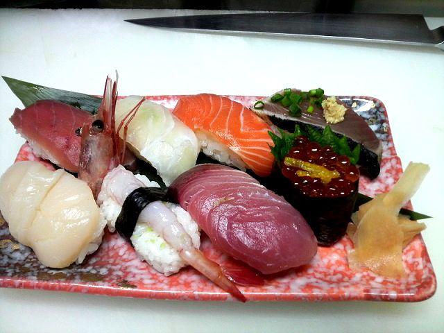 にぎり寿司は簡単に作れる