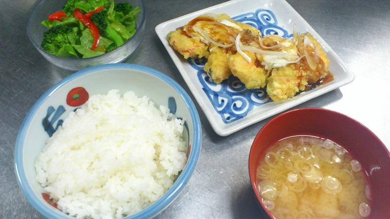 鮭の天ぷら