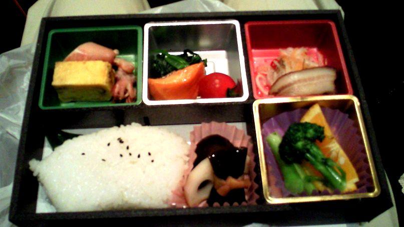 博多座でお弁当をたべる