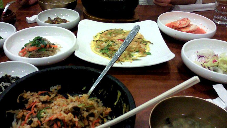 釜山でビビンバを食べたり、射撃をしてきた話