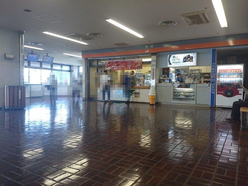福岡競艇場の奥の売店