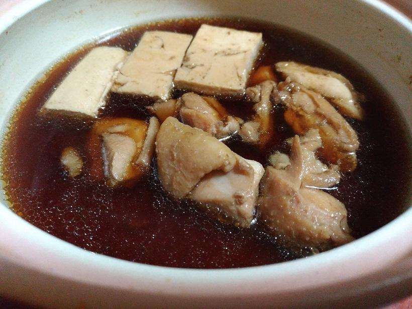 ブラジル産鶏もも肉を使った肉豆腐