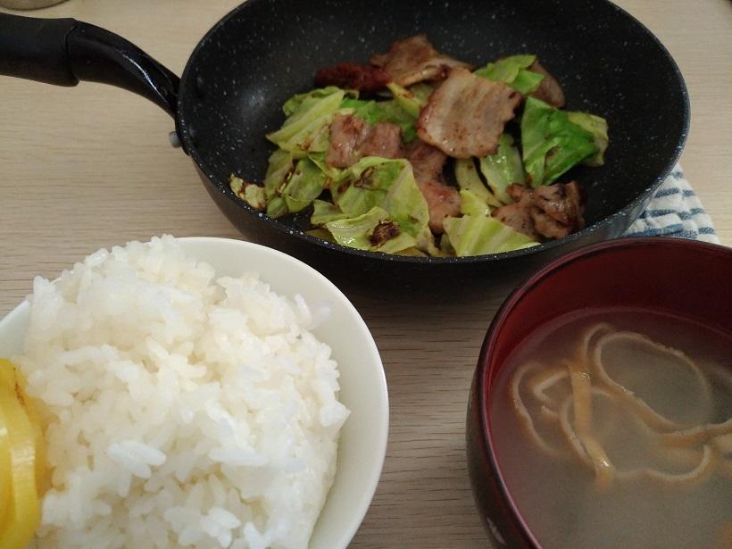 福岡びっくり亭の焼肉定食をお家で再現