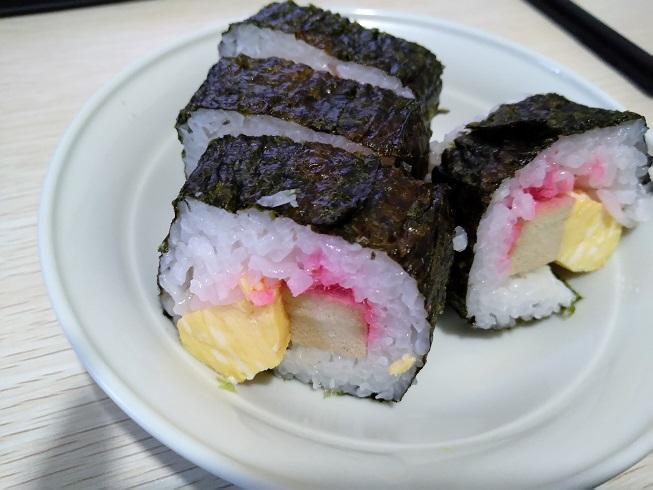 適当な巻き寿司