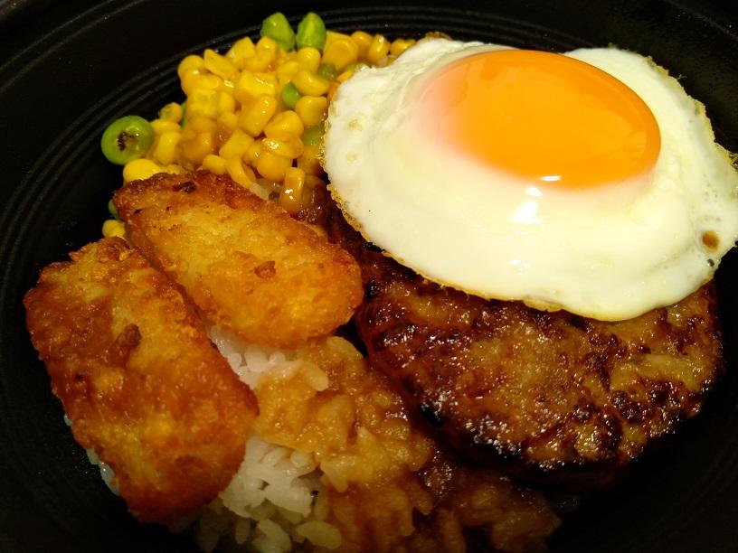 ガスト、ロコモコ丼リニューアル390円