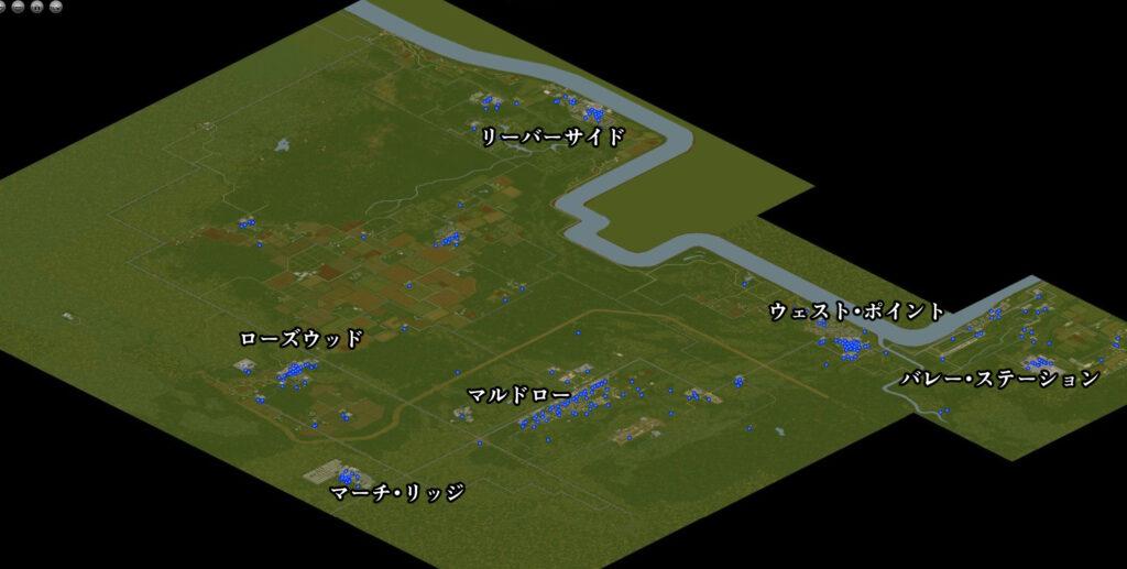 pzの全体マップ