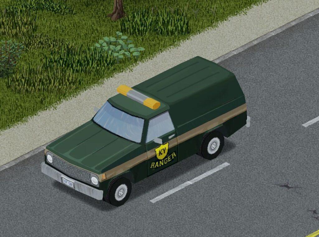 プロジェクトゾンボイドの自然保護官用車両(プルドライバー)
