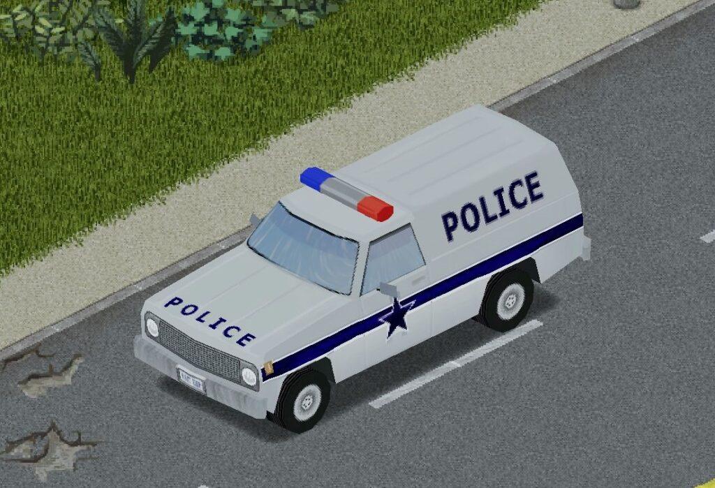 プロジェクトゾンボイドのパトカー(プルドライバー)