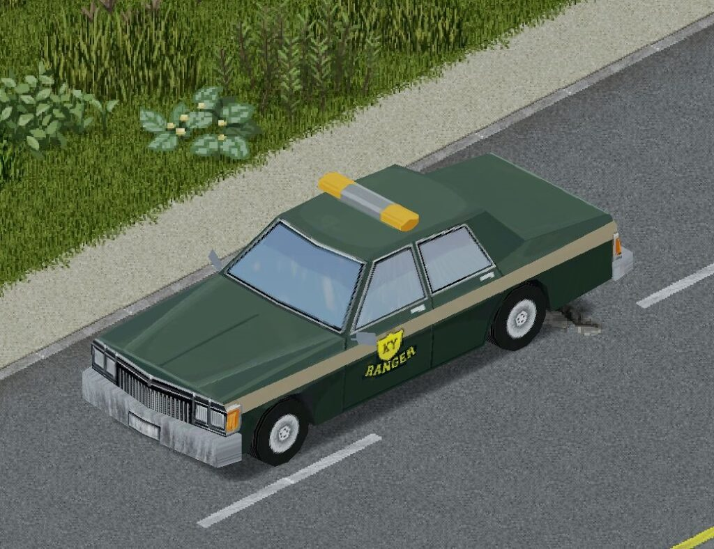 プロジェクトゾンボイドの自然保護官用車両(ニアラ)