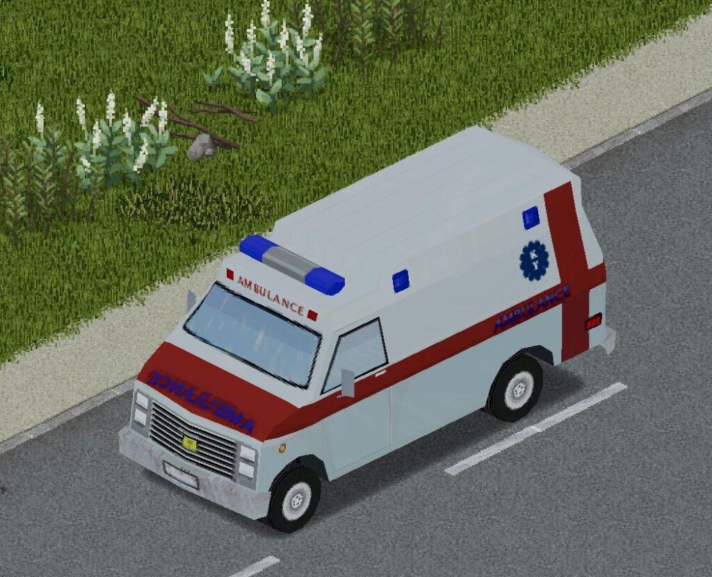 プロジェクトゾンボイドの消防車(ステップバン)