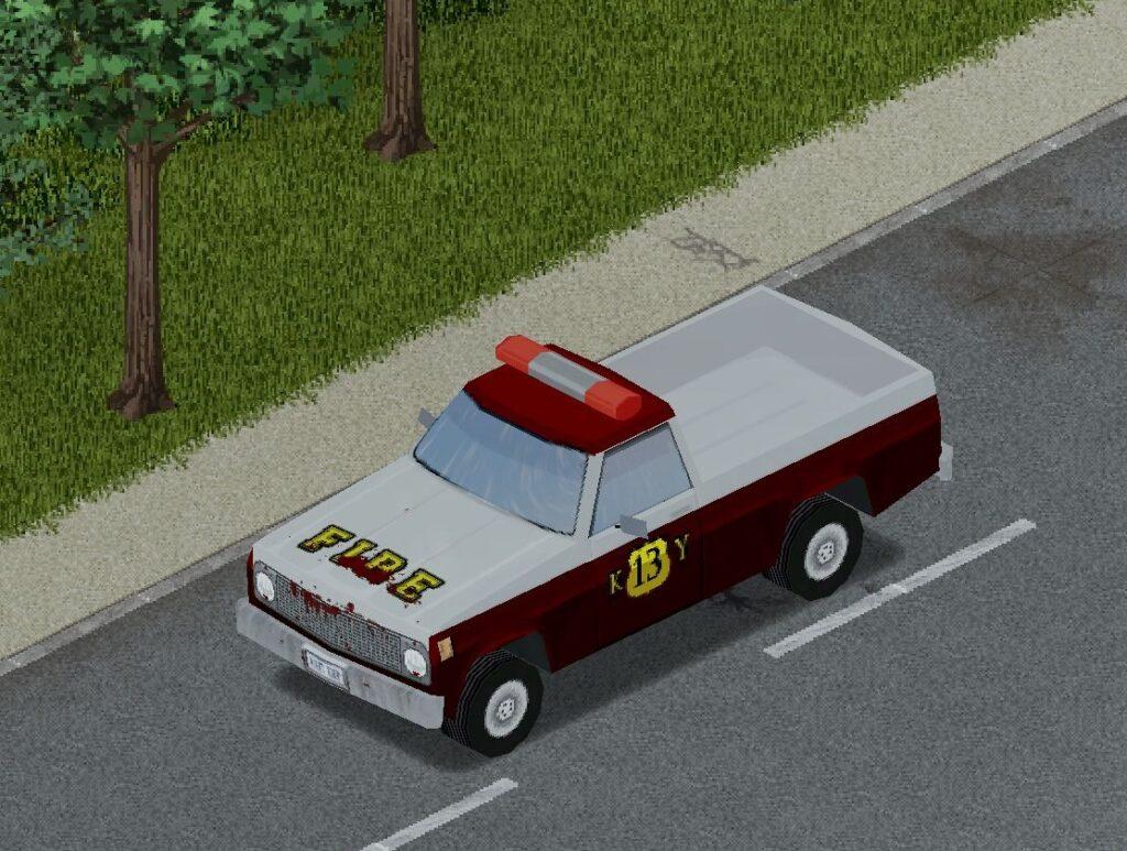 プロジェクトゾンボイドの消防車(D6)